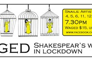 Image for event: CAGED: Shakespeare's Women In Lockdown