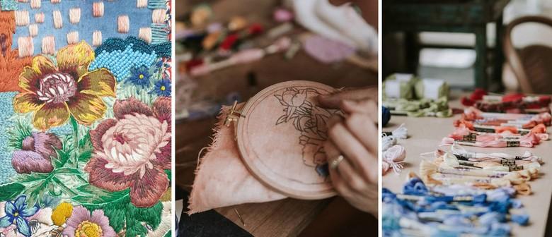 Embroidery Workshop – Creative Floral Basics