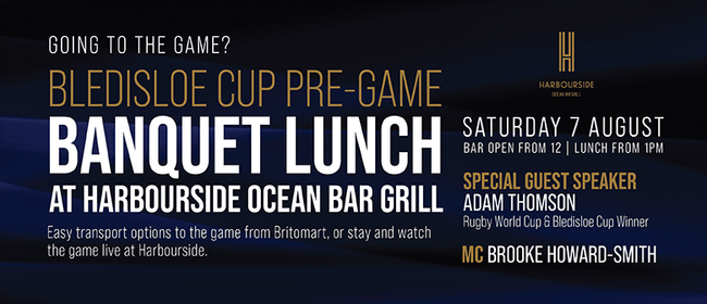 Bledisloe Cup Pre-Game Banquet Lunch: CANCELLED