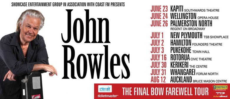John Rowles - The Final Bow Farewell Tour