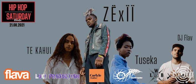 Hip Hop Saturday - Zexii: CANCELLED