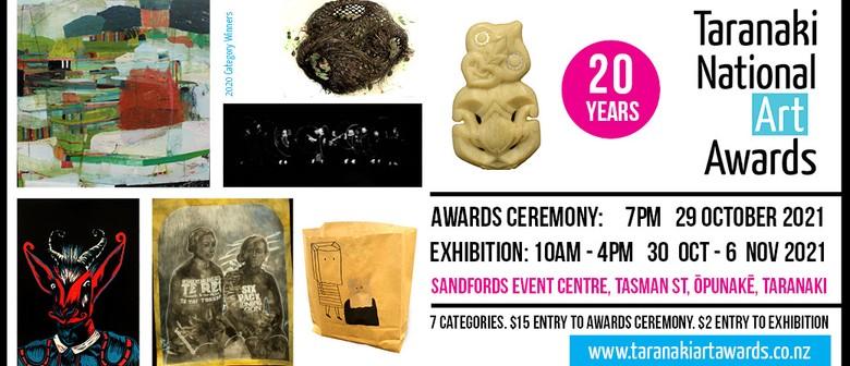 Taranaki National Art Awards 2021