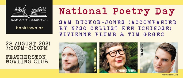 Celebrate National Poetry Day 2021: CANCELLED