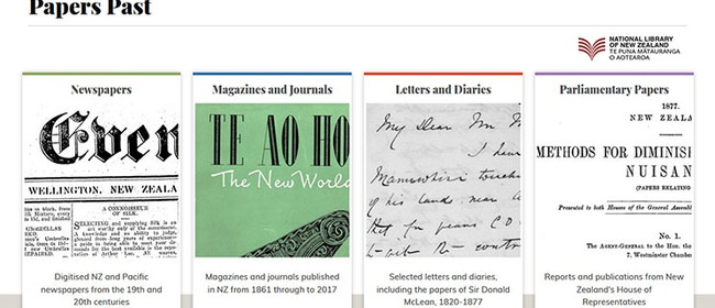 Twenty Years of Papers Past