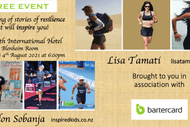 An Evening of Stories of Resilience to Inspire You