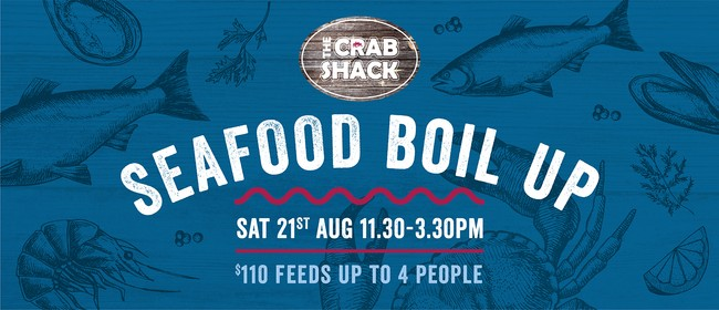 The Crab Shack Seafood Boil Up: CANCELLED