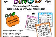 Image for event: Halloween Bingo