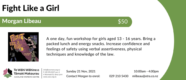 Fight Like a Girl: Self Defence Course for Teenage Girls