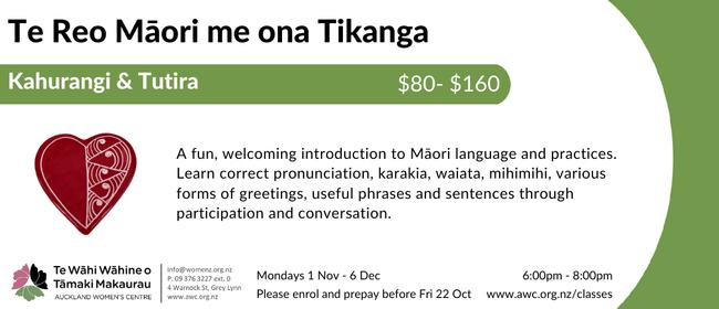 Te Reo Māori me ona Tikanga