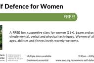 Image for event: Women's Self Defence Workshop