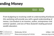 Image for event: Understanding Money