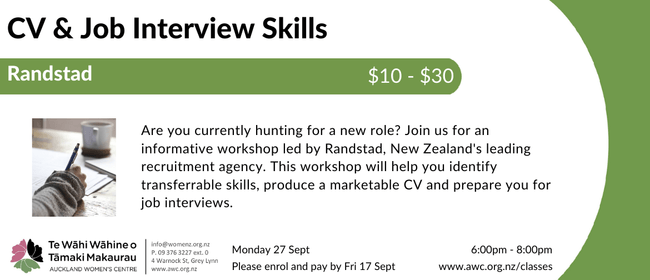 CV & Job Interview Skills