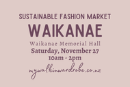 Image for event: My Walk In Wardrobe - Sustainable Fashion Markets