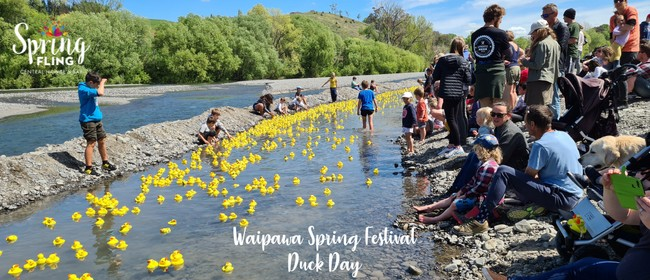 Waipawa Spring Festival Duck Day: CANCELLED