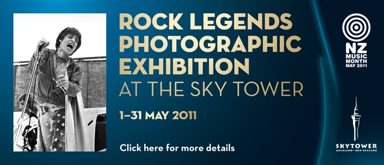 Rock Legends Photographic Exhibition at the Sky Tower