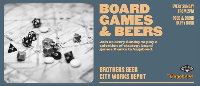 Board Games & Beers - Brothers Beer City Works Depot