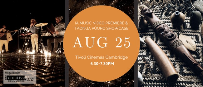 IA Music Video Premiere & Taonga Pūoro Showcase