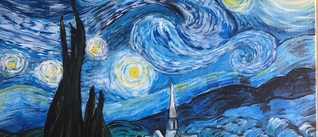 Paint & Chill - Van Gogh Starry Night!
