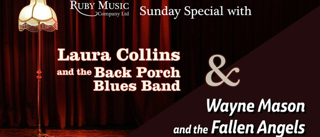 Sunday Special - Laura Collins and the Back Porch Blues Band: CANCELLED
