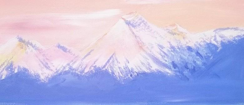 Paint & Wine Night - Mount Cook, Aoraki