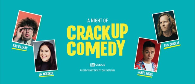 A Night Of Crackup Comedy: CANCELLED