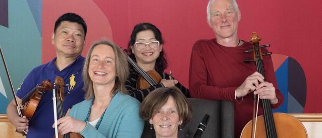 Aroha String Quartet with Rachel Vernon (clarinet): CANCELLED