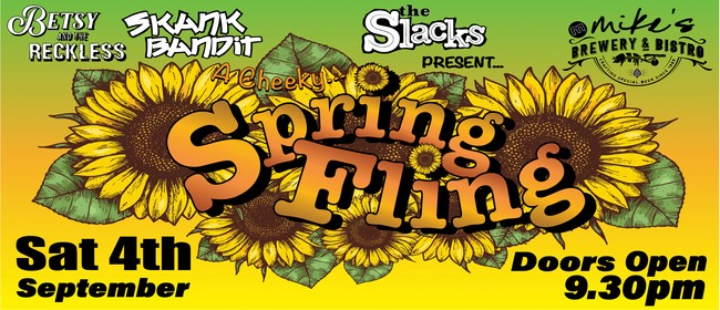 A Cheeky Spring Fling @ Mikes Brewery & Bistro