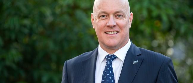 MP Christopher Luxon talks Career Growth and Leadership