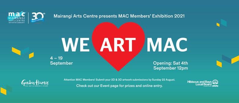 We Art MAC - Art Exhibition: POSTPONED