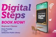Stepping UP - Digital Steps (Beginner Level Classes)