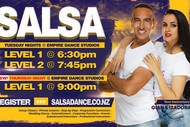 Salsa Beginners Plus Course - Level Two