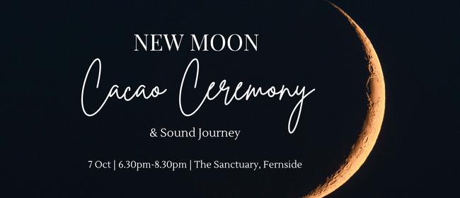 New Moon Cacao Ceremony & Sound Journey - Rangiora