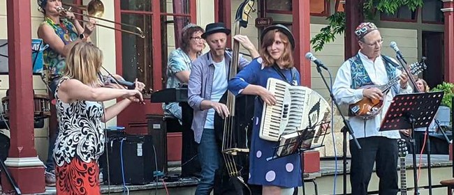 Klezmer Rebs on a Sunday Afternoon: CANCELLED