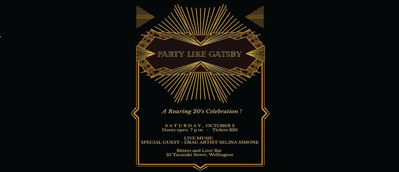 Party like Gatsby - A Roaring 20s Celebration