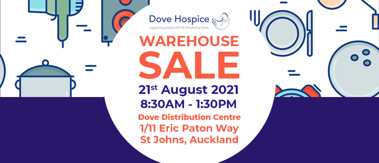 Warehouse Sale: CANCELLED