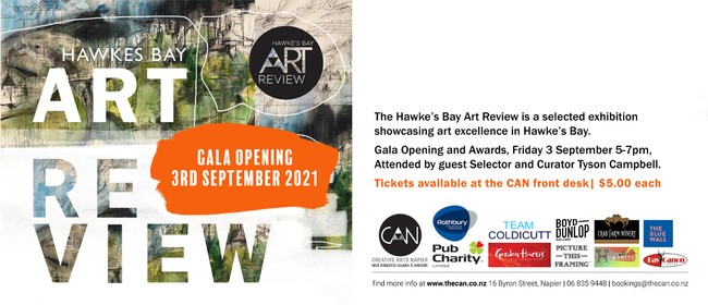 Hawke's Bay Art Review Exhibition and Gala Opening