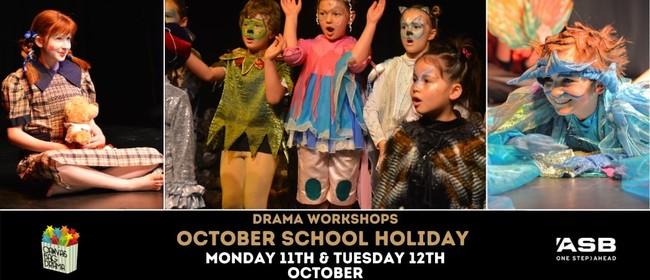 October School Holiday Drama Workshops