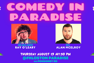 Image for event: Comedy in Paradise