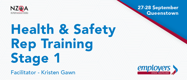 Health and Safety Representative Training - Stage 1