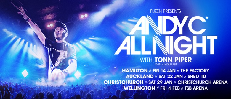 Andy C - All Night NZ Tour 2022