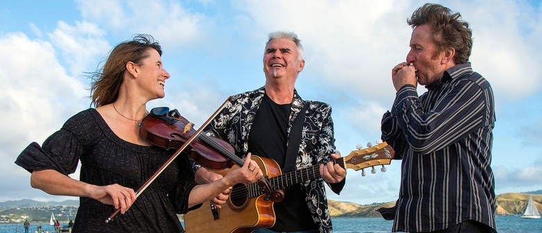 Hobnail Trio live at The Last Church in Āpiti