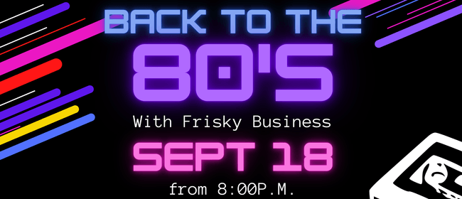 Frisky Business at OCC: CANCELLED