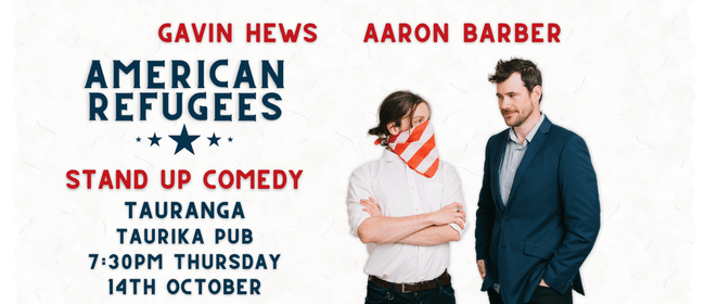 American Refugees Comedy Show: CANCELLED