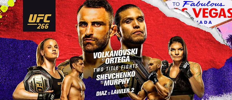 UFC 266 - Volkanovski vs Ortega