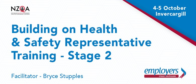 Building on Health & Safety Representative Training - Stage