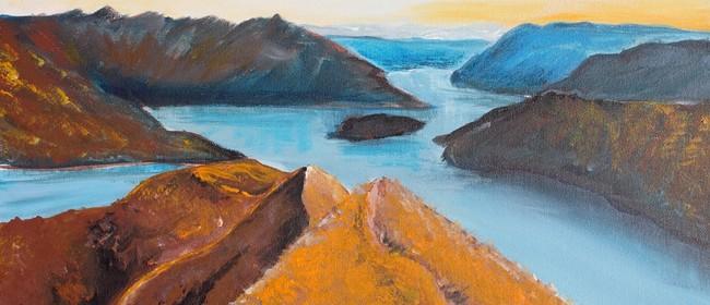 Paint & Wine Afternoon - Roy's Peak