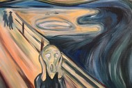 Image for event: Paint and Wine Night - The Scream