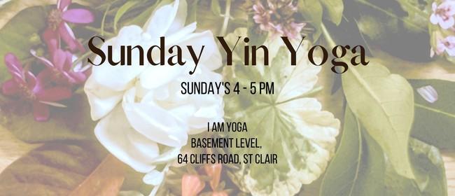 Sunday Yin Yoga