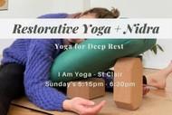Image for event: Yoga for Deep Rest - Restorative Yoga & Nidra