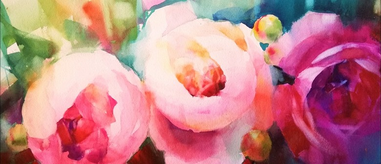 Min Kim - Exhibition of Watercolours & Oil Paintings